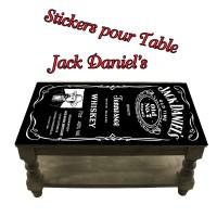Stickers pour Table Jack Daniel's