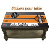 Stickers pour Table Harley Davidson