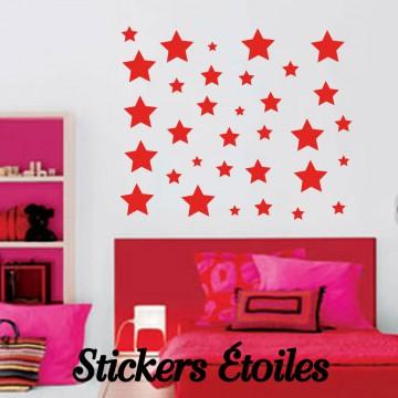 Stickers Autocollant Etoile