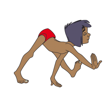 Stickers Mowgli