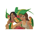 Stickers Tarzan et Jane