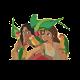 Stickers Tarzan et Jane