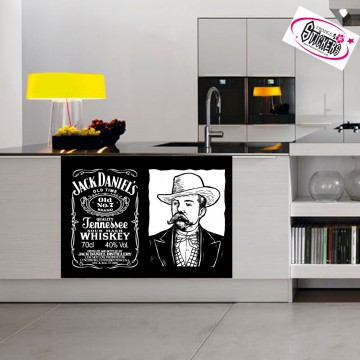 Stickers Autocollant Jack Daniel's