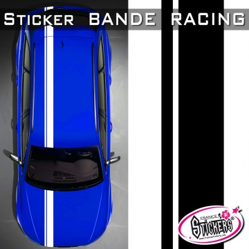 Stickers Voiture Bande Racing Tuning Style