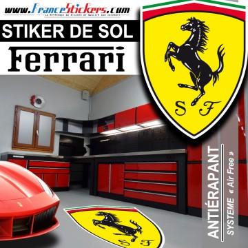 Stickers Ferrari - SPÉCIAL SOL