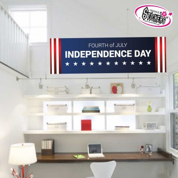 Stickers Autocollant Independence Day