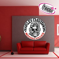 Stickers Autocollant Harley Davidson