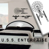 Stickers STAR TREK - USS - ENTERPRISE