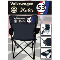 Volkswagen Herbie - Chaise Pliante Personnalisée