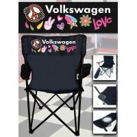 Volkswagen Peace - Chaise Pliante Personnalisée
