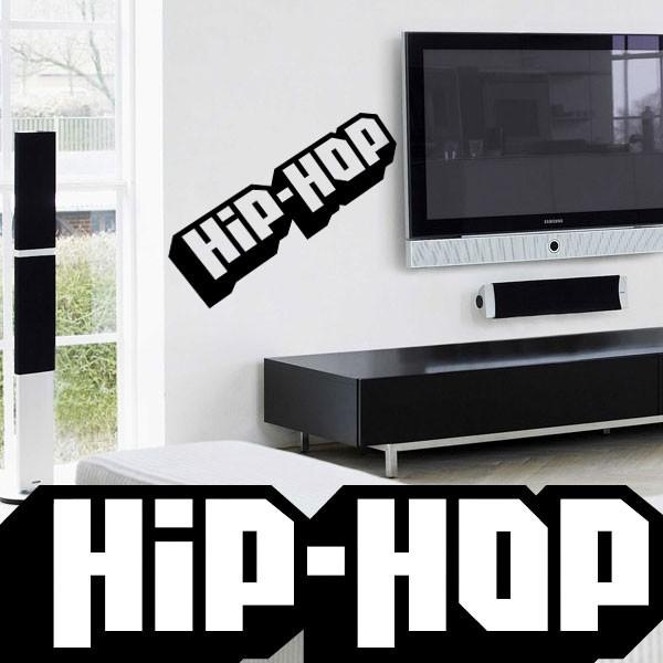 Sticker hip hop music france stickers for Miroir 120x40