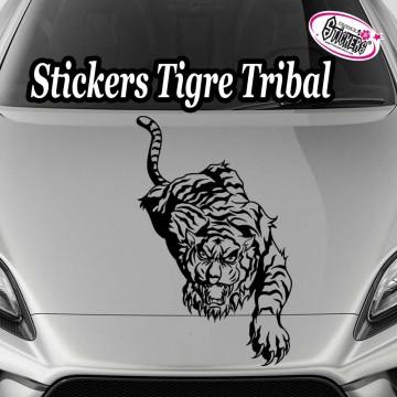 Stickers Autocollant Tigre Tribal