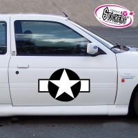 Stickers Autocollant Tuning Étoile US