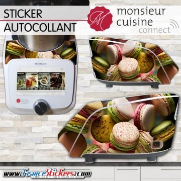Stickers Autocollants Monsieur Cuisine Connect MCC -Macaron