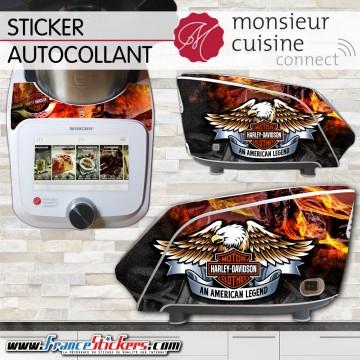Stickers Autocollants Monsieur Cuisine Connect MCC - Harley Davidson