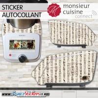 Stickers Autocollants Monsieur Cuisine Connect MCC - Egypte Antique