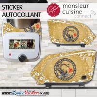 Stickers Autocollants Monsieur Cuisine Connect MCC - Déco Asiatique