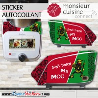 Stickers Autocollants Monsieur Cuisine Connect MCC - Don't Touch my MCC