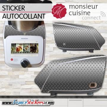 Stickers Autocollants Monsieur Cuisine Connect MCC - Moderne gris