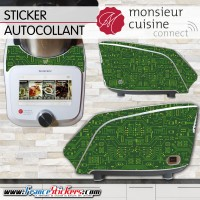 Stickers Autocollants Monsieur Cuisine Connect MCC - Composant Electronique