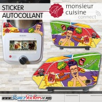 Stickers Autocollants Monsieur Cuisine Connect MCC - Thank You Mister Kitchen