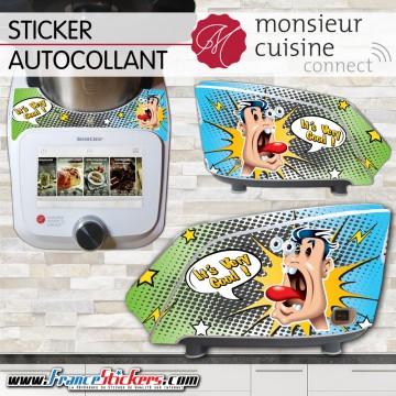 Stickers Autocollants Monsieur Cuisine Connect MCC - It's very Good !