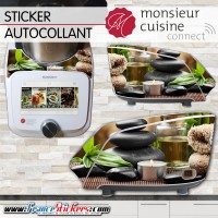 Stickers Autocollants Monsieur Cuisine Connect MCC - Zen