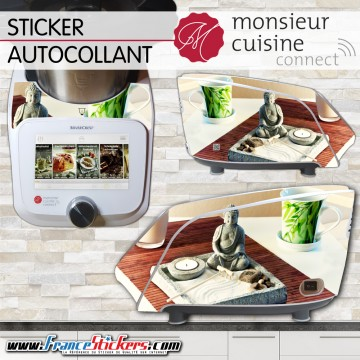 Stickers Autocollants Monsieur Cuisine Connect MCC - Zen Bouddha