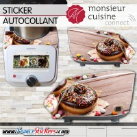 Stickers Autocollants Monsieur Cuisine Connect MCC - Donuts