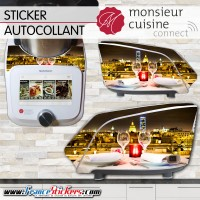 Stickers Autocollants Monsieur Cuisine Connect MCC - Tête à Tête