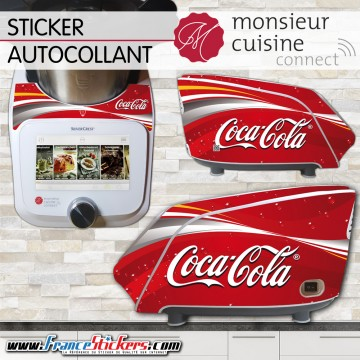 Stickers Autocollants Monsieur Cuisine Connect MCC - Coca Cola