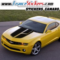 Stickers Autocollant Kit Bandes Chevrolet Camaro Style Transformer