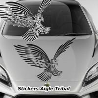 Stickers Autocollant Aigle Tribal