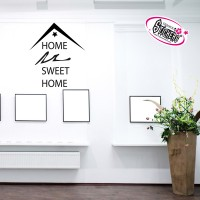 Stickers Autocollant Home Sweet Home