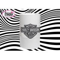 Stickers Autocollant pour Baril ou Bidon Harley Davidson