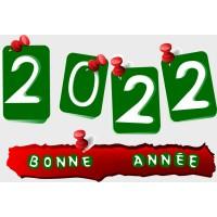 Stickers Bonne Année 2022