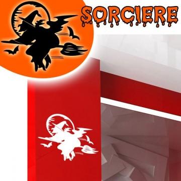 stickers Sorcière 1