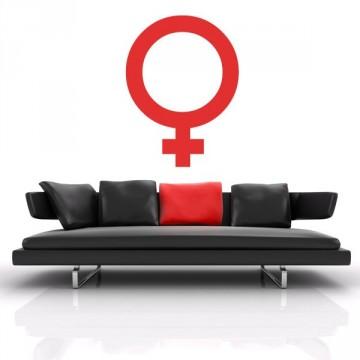 Stickers Symbole Féminin