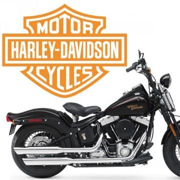sticker Logo Harley Davidson 1