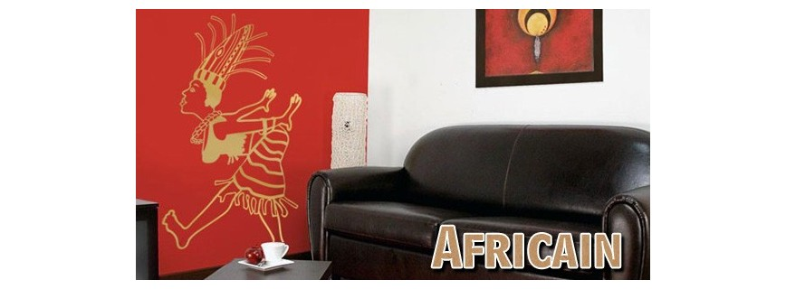 stickers Africains