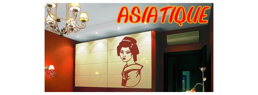 stickers Asiatique