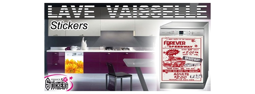 stickers lave vaisselle cuisine france stickers france stickers. Black Bedroom Furniture Sets. Home Design Ideas