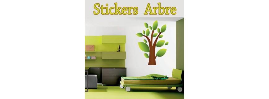 Stickers Arbre et Fleur