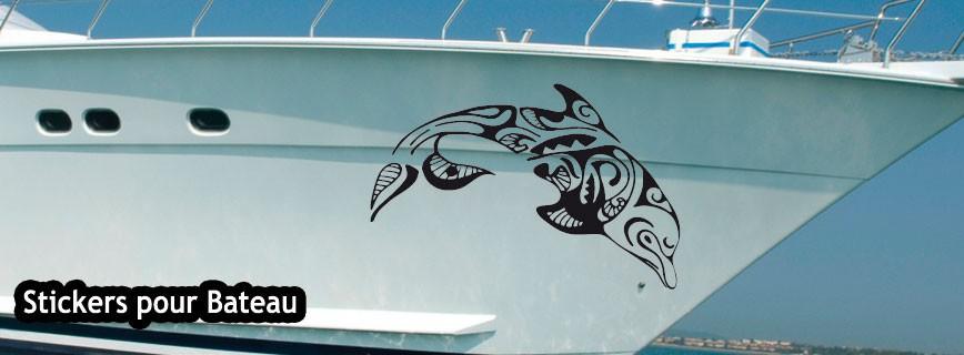 Stickers pour bateau
