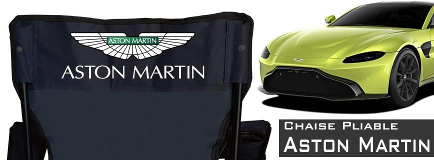 Aston Martin - Chaise Pliable Personnalisée