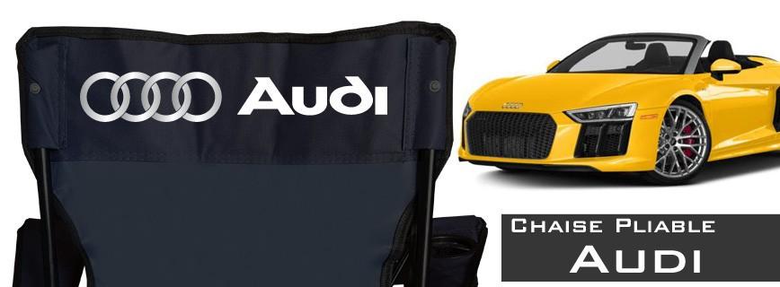 Audi - Chaise Pliable Personnalisée