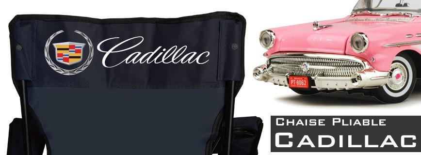 Cadillac - Chaise Pliable Personnalisée