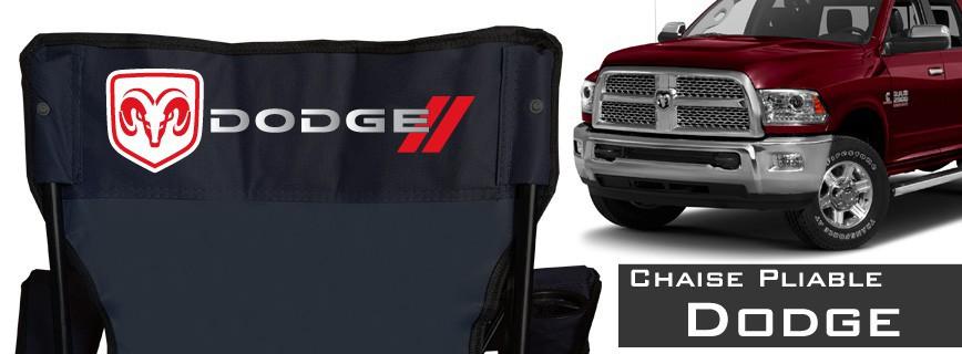Dodge - Chaise Pliable Personnalisée