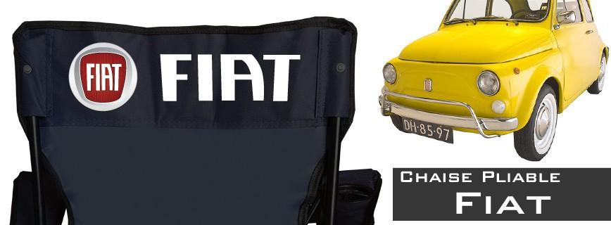 Fiat - Chaise Pliable Personnalisée