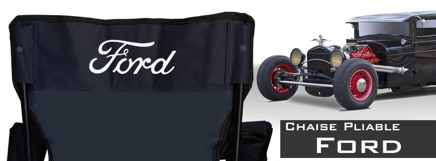 Ford - Chaise Pliable Personnalisée